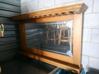 brown wooden framed glass window Las Vegas, 89104