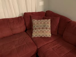 Sectional red