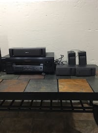 Sony receiver plus 5 speaker and a subwoofer Chicago, 60629