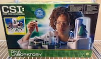 CSI DNA Laboratory Crime Scene Investigation Science Toy Toys R Us Exclusive New 216 mi