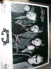 Signed picture of ALABAMA group