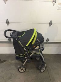 Chicco Stroller, baby seat &car seat base