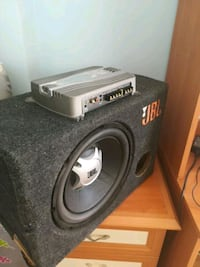 Subwoofer + bass amfi
