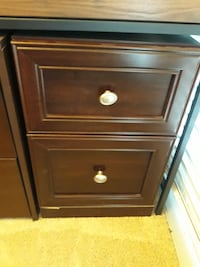 Desk with Matching Filing Cabinet Denton