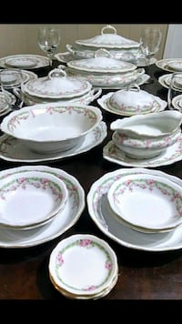 1902 Adolf Persch Porcelain Dinnerware