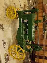 "Steel toy tractor 11"" long and 7 "" tall  Brandywine, 20613"