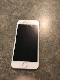 Silver iphone 6 with black case Toronto