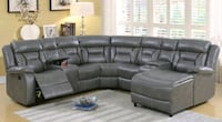 Sale✅✅ 5 Pcs brown and grey reclining sectional •$ Las Vegas, 89117