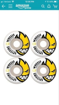 New in Package - Spitfire Bighead Edition 48mm skateboard wheels Tampa, 33647