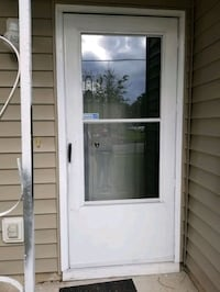 Storm door used. (36x80) all parts  complete. Hampton, 23669