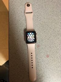 space gray aluminum case Apple Watch with black sport band Fort Hood, 76544