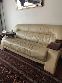 Beautiful modern style Sofa set for sale. 2 loveseats and 1 sofa . Willing to sell individual piece Ashburn, 20147
