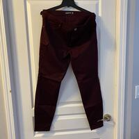 New Women's Maroon Jegging Pants sz 14