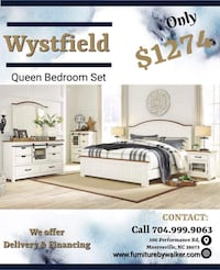 Wystfield queen bedroom set by Ashley cottage  Mooresville, 28115