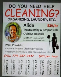 House cleaning Millbury