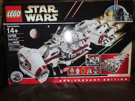 2009 LEGO Star Wars Tantive IV Rebel Blockade Runner 10198 Anniversary Edition MISB