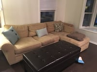 FS: Pottery Barn Pearce Sectional Couch - $750 Alexandria, 22309
