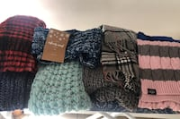 8 woman's scarfs excellent condition 1 with tags Revere, 02151