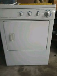 white front-load clothes dryer Toronto, M6N 3W2