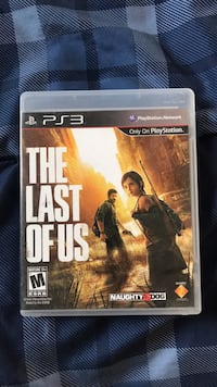 PS3 The Last of Us game case Gilbert, 85296
