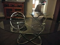 Chrome/Glass Coffee Tables Darby, 19023