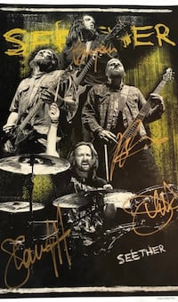Limited Edition Seether Poster # 6 out of 1250 Beacon, 12508