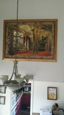Large Framed Picture ( 4' x 5.5' ).