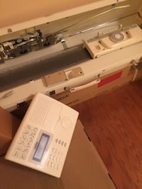 Brother Kh-970 knitting machine with ribber (carton still banded) STEPHENSCITY
