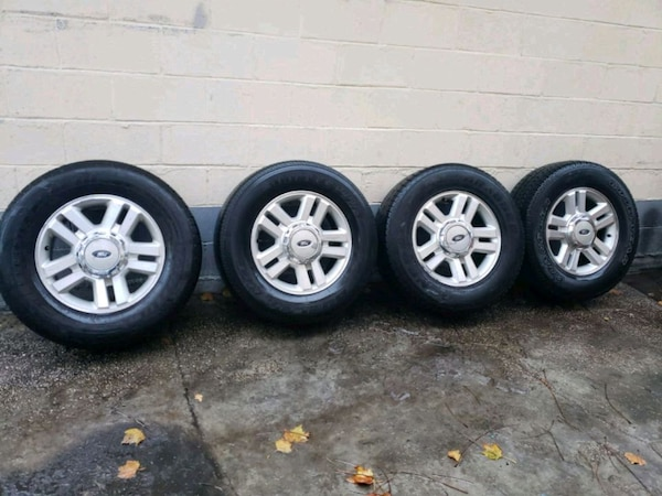 P275 65r18 Tires >> Used Rims And Tires P275 65r18 Ford F150 For Sale In Queens Letgo