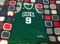 men's green and white Boston Celtics 9 Adidas basketball jersey Rockville, 20850