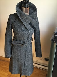 Brand new sioa & kyo gray trench coats in xsmall Montréal, H1P 2W8