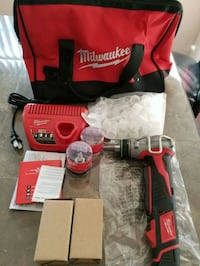 red and black Milwaukee cordless power drill Roswell