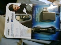 New- Bluetooth headset Car&AC adapter included