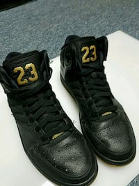 2515e9c1eaf2 Used Nike Air Jordan 1 Flight 4 Premium Black Gold for sale in Queens