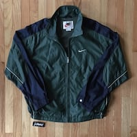 Vintage Nike Windbreaker Zip Up, size M