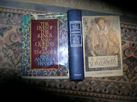 Three (3) Books about the Kings  Springfield