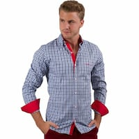 Wooden button shirt/camisa con boton de maderac226 Perth Amboy, 08861
