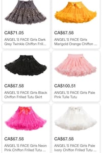 almost new angel's face TUTU skirt for age1-3 卡尔加里, T2Z 3Y2