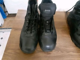 bates work boots only wore 2xs size 14