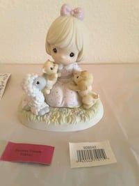 """Special Friends"" Precious Moments Porcelain Figurine"