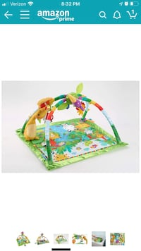 Fisher-Price Rainforest Music & Lights Deluxe Gym For infant