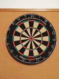 National Darts Federation of Canada - EXCELLENT condition null