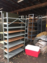Heavy duty metal shelving units  25 mi