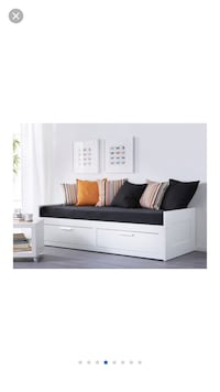 Expandable IKEA double bed (like brand new) Gaithersburg, 20878