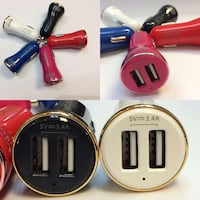 3.4 Amp Car charger with dual USB port and light  Miami, 33122