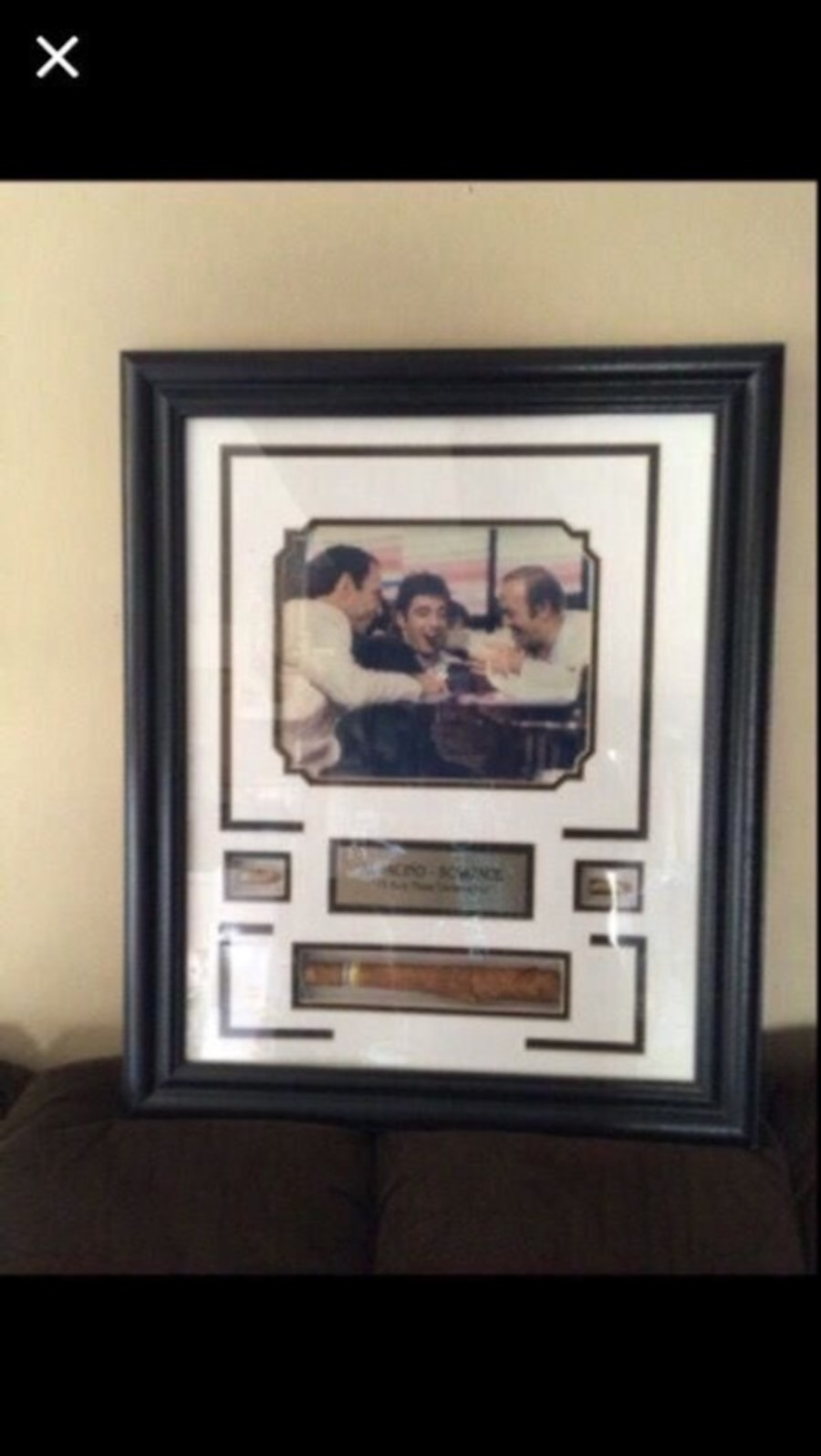 Used al pacino scarface picture frame in sterling heights jeuxipadfo Images
