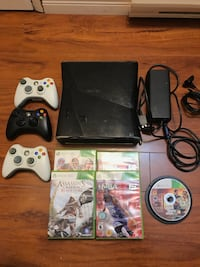 Xbox 360 +accesories+games