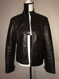 AE Biker Leather Jacket (Medium)  Milton, L9T 4K1