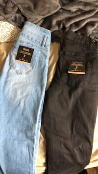 Two highrise size 7 jeans Grande Prairie, T8V 1G2