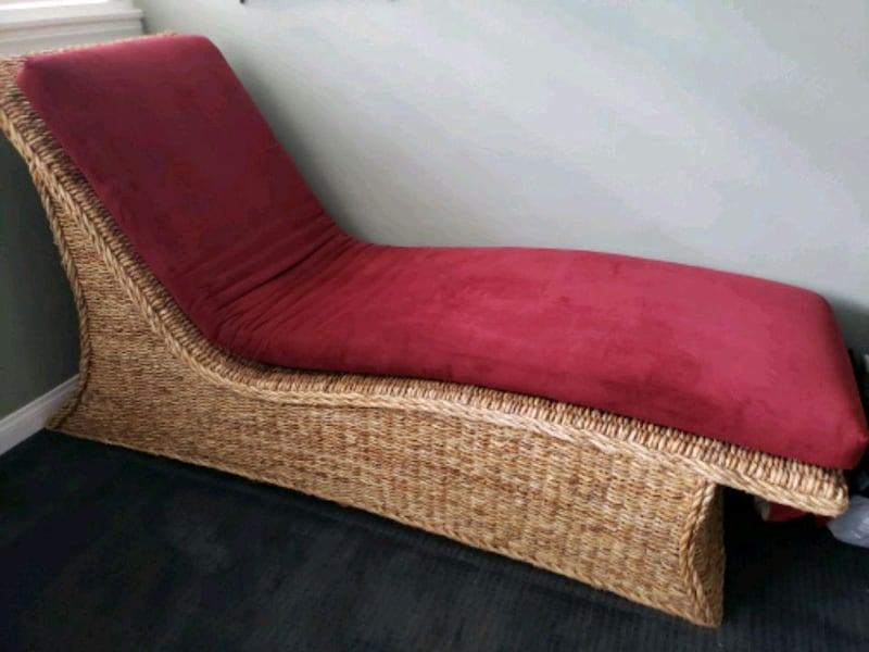 Used Shabby Chic Chaise Lounge For